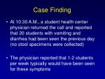 case finding2