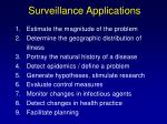 surveillance applications