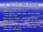 2 the time value of money