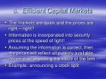 6 efficient capital markets