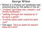 george wilson