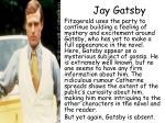jay g atsby