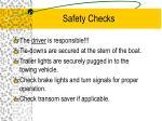 safety checks1