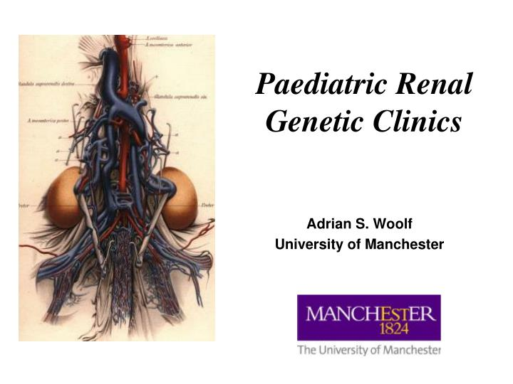paediatric renal genetic clinics n.