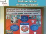 bledisloe school interactive signage