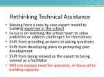 rethinking technical assistance