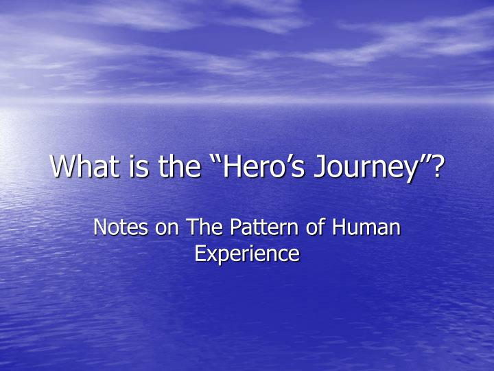 what is the hero s journey n.