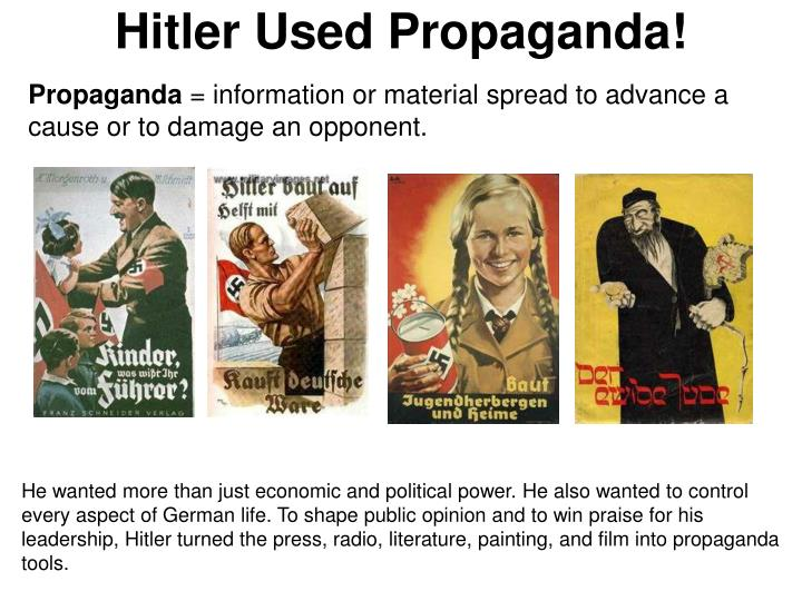 using propaganda as a tool to The governmental use of propaganda continued to expand in the it also demonstrated the utility of propaganda as a tool of national policy and became the basic.