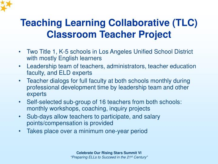 Collaborative Teaching In Classroom : Ppt teaching learning collaborative tlc powerpoint