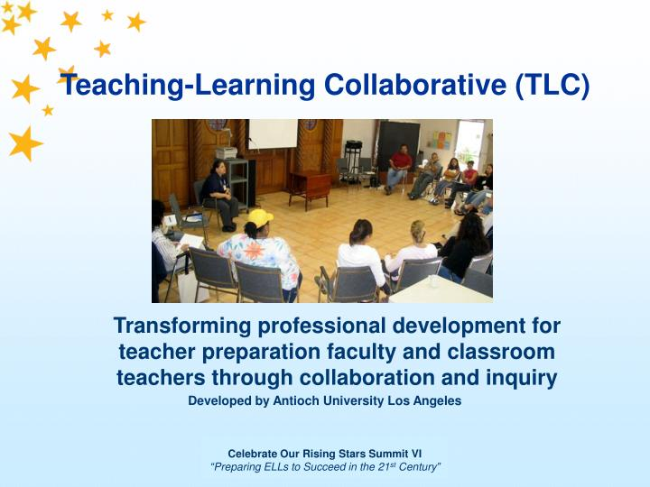 Collaborative For Teaching And Learning ~ Ppt teaching learning collaborative tlc powerpoint