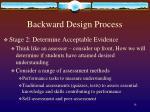 backward design process4