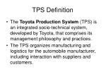 tps definition