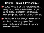 course topics perspective1