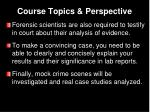 course topics perspective2