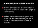 interdisciplinary relationships2