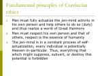 fundamental principles of confucian ethics