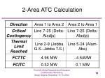 2 area atc calculation