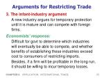 arguments for restricting trade3