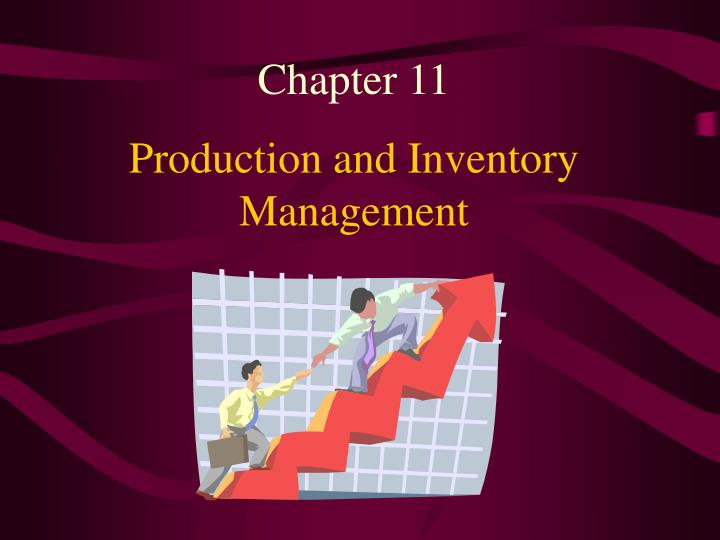 production and inventory management n.