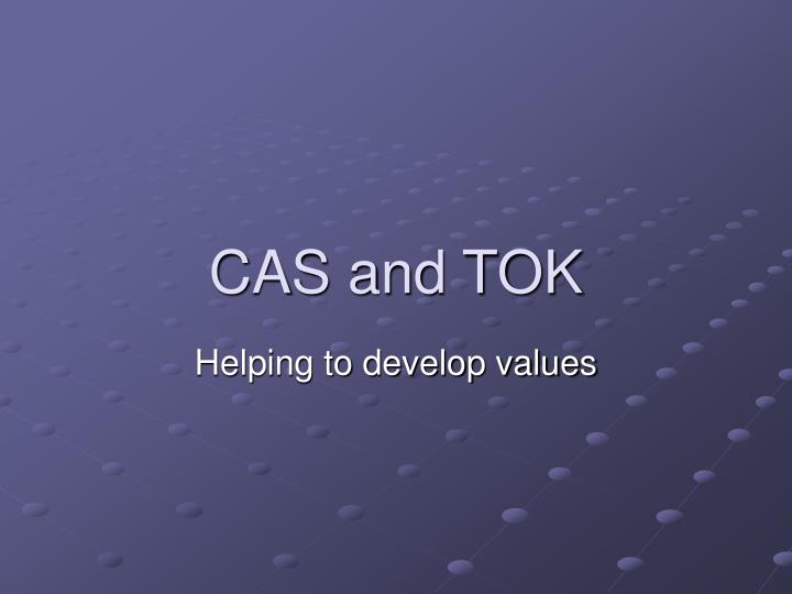 cas and tok n.
