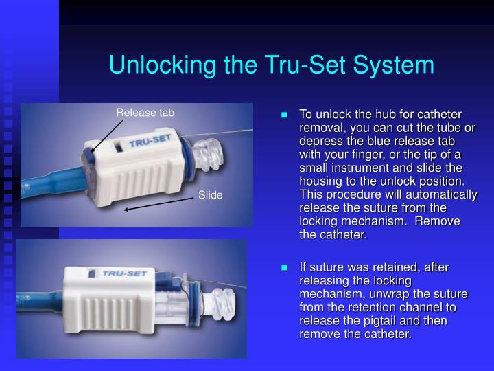 Unlocking the Tru-Set System