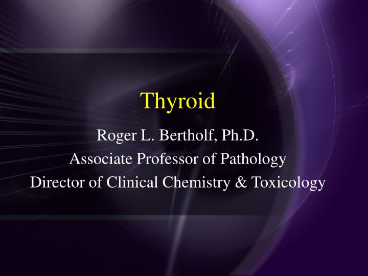thyroid n.