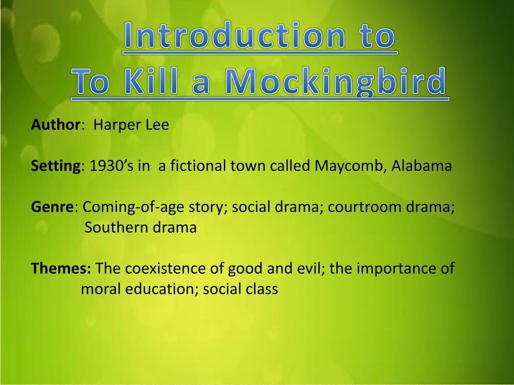 maycomb alabama in to kill a mockingbird