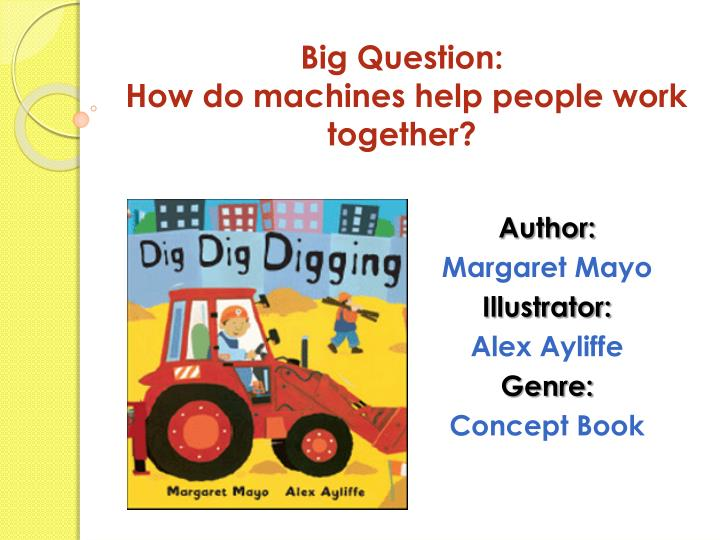 big question how do machines help people work together n.