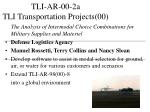 tli ar 00 2a tli transportation projects 00