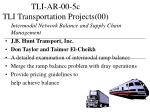 tli ar 00 5c tli transportation projects 00