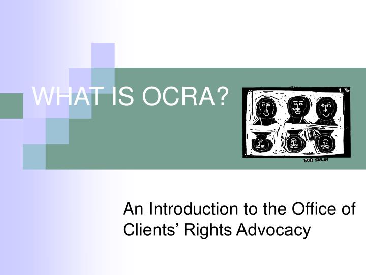 what is ocra n.