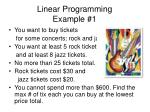 linear programming example 1