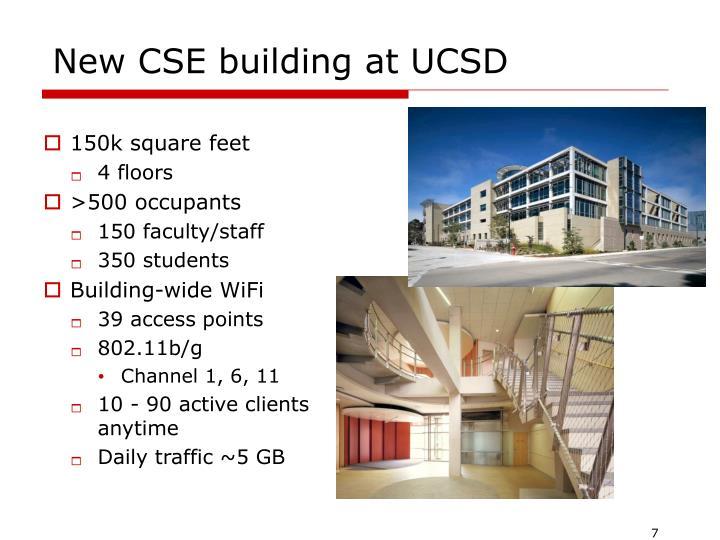 New CSE building at UCSD