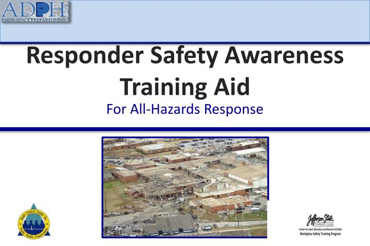 responder safety awareness training aid n.