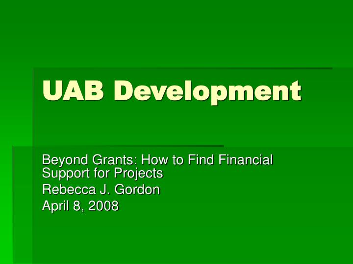 uab development n.