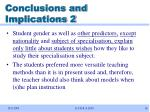 conclusions and implications 2
