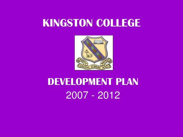 kingston college n.