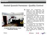 sealed quench furnaces quality control