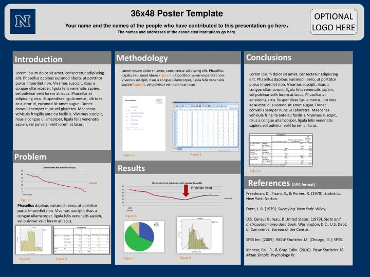 research poster template 48x36ppt 36x48 poster template