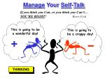 manage your self talk