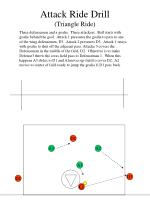 attack ride drill triangle ride