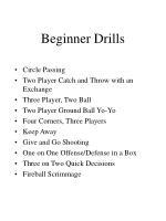beginner drills