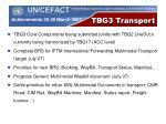 tbg3 transport