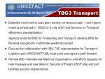 tbg3 transport1