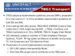 tbg3 transport2