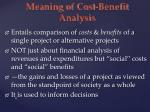 meaning of cost benefit analysis2