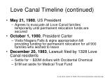 love canal timeline continued4
