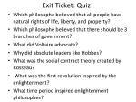 exit ticket quiz