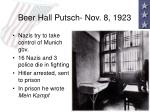 beer hall putsch nov 8 1923