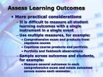 assess learning outcomes1